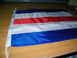 Tailoring signal flags / флаги сигнальные пошив