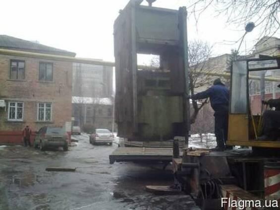 Такелажные работы промышленного оборудования, станков.