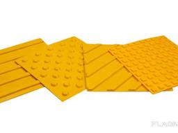Тактильная плитка для входной группы помещений.300х300х4см