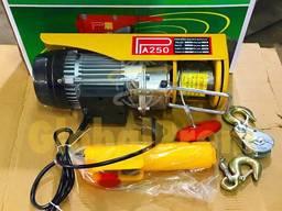 Таль электрическая, лебедка, тельфер, подъемник на 220 вЛт