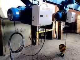 Таль электрическая (тельфер) Q-3.2т.,H-6.3 м.,ТЭ3,2.419-6,3Д