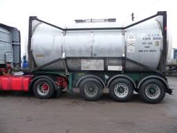 Танк-контейнер 20 футовый 30 м. куб. для наливных грузов
