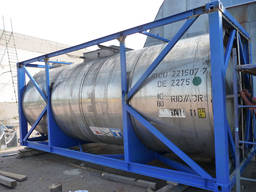 Танк-контейнер 20 футовый для жидких грузов с подогревом