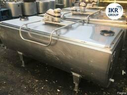 Танк охладитель молока Б/У Packo 1200 ванна объёмом 1200 лит
