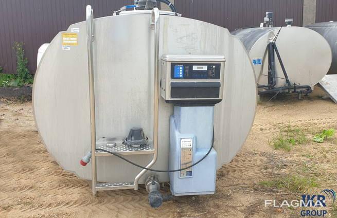 Танк охолоджувач молока DeLaval 5000 л
