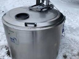 Танк охолоджувач молока, води, соку 500 літрів Alfa Laval, De Laval, Muller б. у