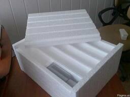 Тара и упаковка из пенополистирола.
