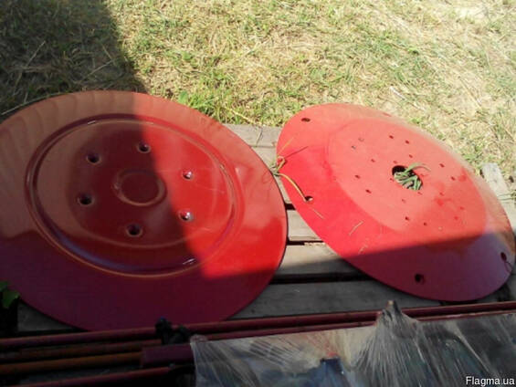 Тарелка верхня (рабочая) роторной косилки Wirax, Agromech