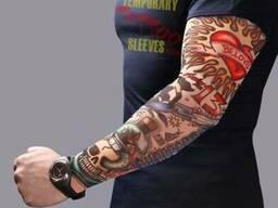 Тату рукава. Тату гетры. Татуировки.