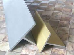 Тавр алюмінієвий 80х50х2 мм марка сталі АД31