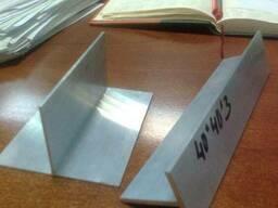 Тавр алюминиевый АД31т 6060, 40х40х3мм купить
