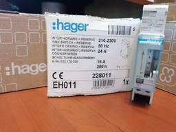 Таймер аналоговый, суточный, Hager EH 011