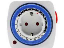 Таймер механічний (добовий) круглий LU-TM28 (ABS-пластик). ..