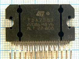 Микросхемы TDA7383 TDA7419 TDA7454 TDA7560A TDA8170 TDA8214B TDA8218