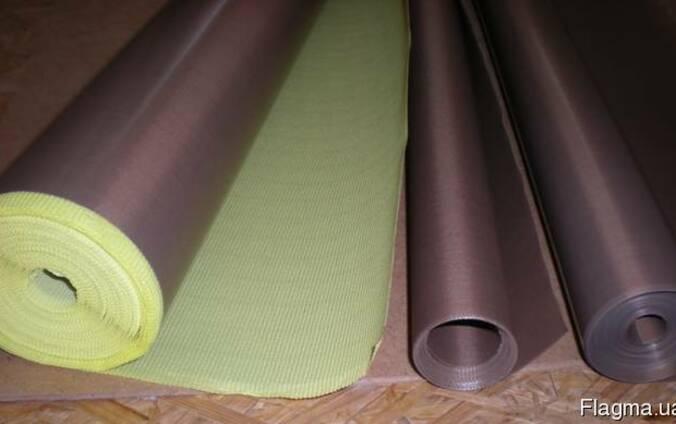 Тефлоновая лента, пленка, с клеем и без клея, 80мкм