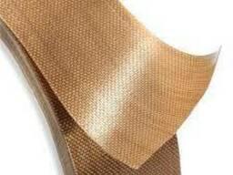 Тефлоновая лента. Стеклоткань на клеевой основе 130мкм*60мм*
