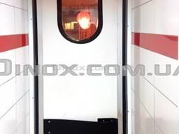 Технические маятниковые двери одностворчатые