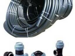 Трубы пластиковые для прокладки кабеля