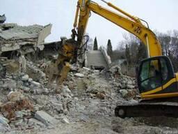Техника для демонтажа сооружений в Одессе: услуги, аренда