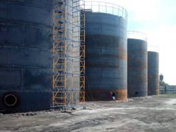 Наша технология обработки резервуара под растительное масло