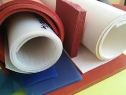 Резина силиконовая термостойкая, рулонная, толщина 2. 0-10. 0