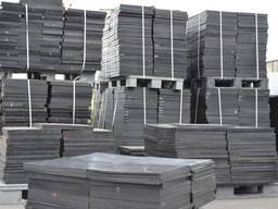 Плиты резиновые ТП-25 500х500х25