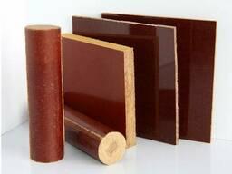 Текстолит стержни и листы, порезка, детали из текстолита.