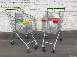 Телеги торговые от 60 литров до 210 литров в супермаркет