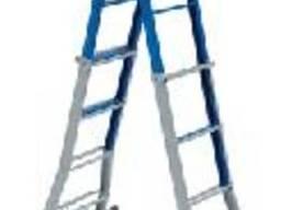 Телескопическая металлическая лестница Elkop В 45FS