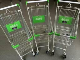 Тележка для супермаркета 80 литров Тележка для супермаркета