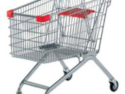 Тележка для супермаркета корзина 125 литров