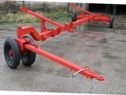 Тележка для транспортировки жатки усиленная (5м-12м) - фото 4