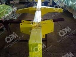 Тележка для транспортировки жаток одноосная 6 м