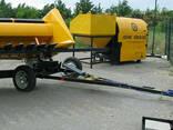 Тележка для транспортировки жаток универсальная ТЖУ - фото 7