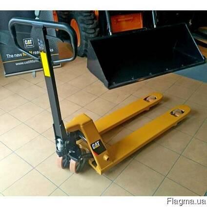 Гидравлическая тележка CBF25-MPTP CAT Lift Trucks, вилы 1150