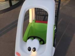 Машинка тележка покупательская для детей в торговых центрах
