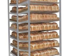 Тележка шпилька хлебная для пекарни, тележки для транспортировки лотков хлеба