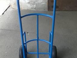 Тележка складская на пневмо колесо 3. 00-4 (под кеги)