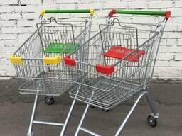 Тележка для супермаркета торговая 80 литров