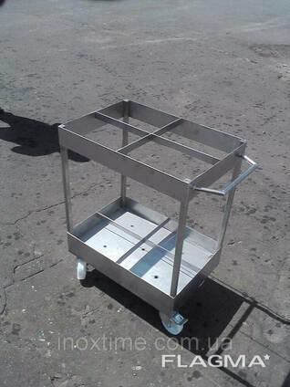 Тележка транспортировочная для коптильных палок (вешал). ..