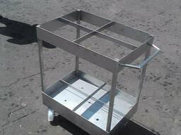 Тележка транспортировочная для коптильных палок (вешал)...