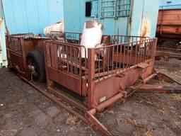 Тележка-трап ТТ-1, Прицеп для перевозки свиней