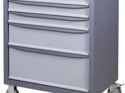 Тележка ящик для инструментов металлическая ТУ 3МСБ