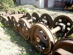 Тележки ЦНИИ-Х3-0, колесные пары ТГМ-23, КДЭ-161 (б/у)