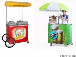 Тележки для продажи хот-догов, сладкой ваты, поп-корна....