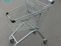 Тележки для супермаркета на 80 литров
