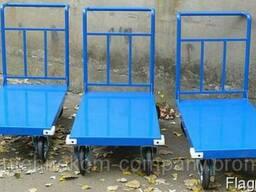 Тележки грузовые платформенные