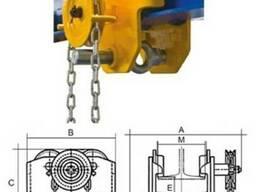 Тележки передвижения тали с ручным цепным приводом типа ABT