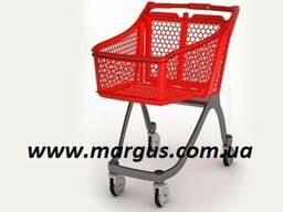 #Тележки пластиковые для супермаркета#, для магазина