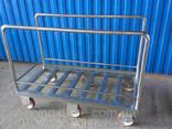 Тележки (рама) для перевозки полутуш - фото 5